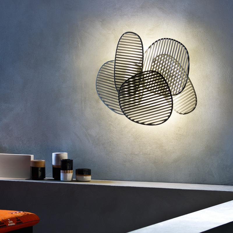 nuage wall light. Black Bedroom Furniture Sets. Home Design Ideas