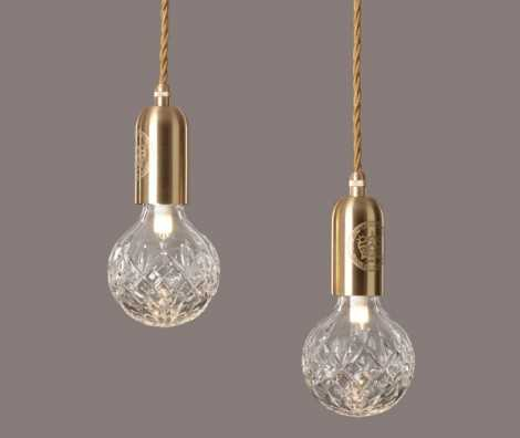 Clear Crystal Bulb And Pendant Light Fitting In South Africa