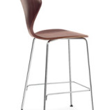 Cherner Stool - Chrome Metal Base