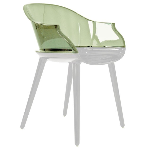Cyborg transparent chairs by magis available in south africa for Magis cyborg