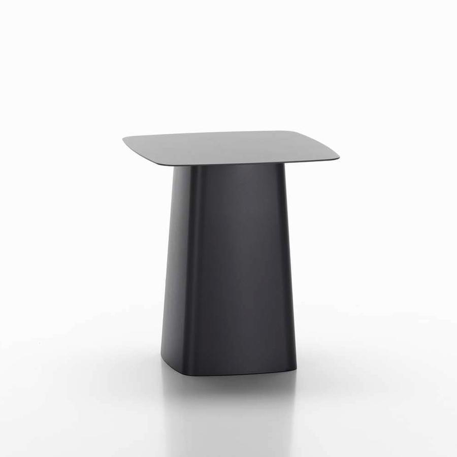 metal side table -