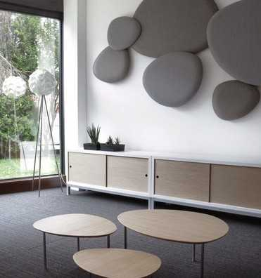Satellite decorative acoustic wall panels designed by stua - Decorative acoustic wall panels ...