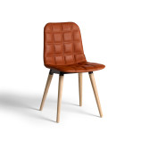 bop wood chair