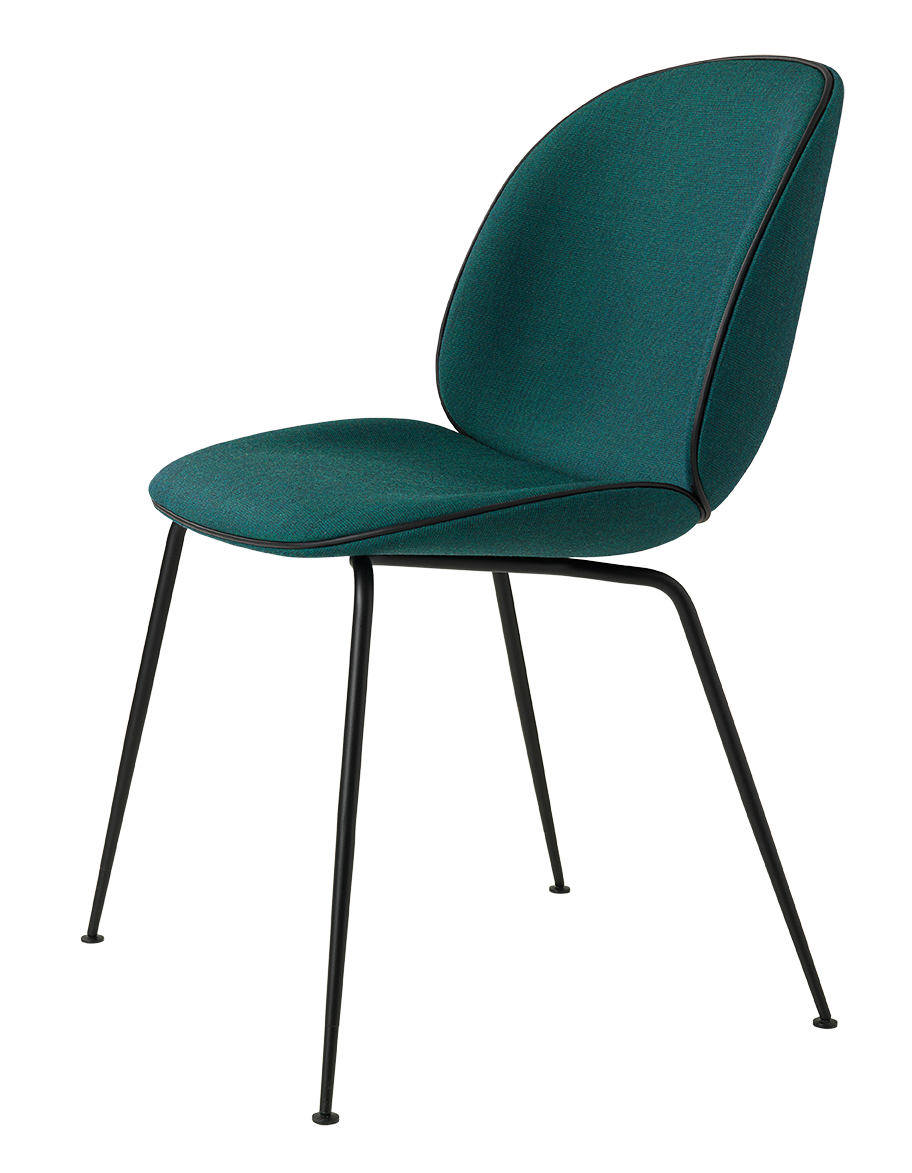 Beetle chair for Chaise eames bleu canard