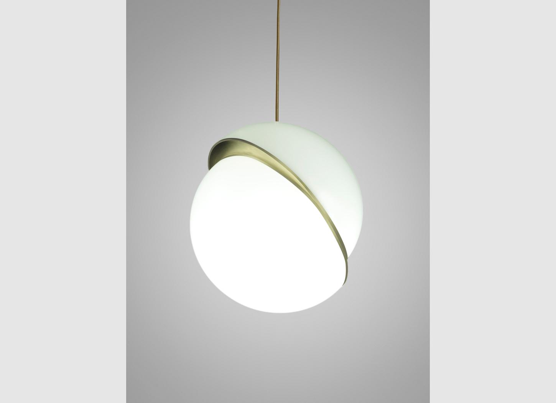 Crescent Suspension Light