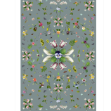 Garden Of Eden Rug - Grey