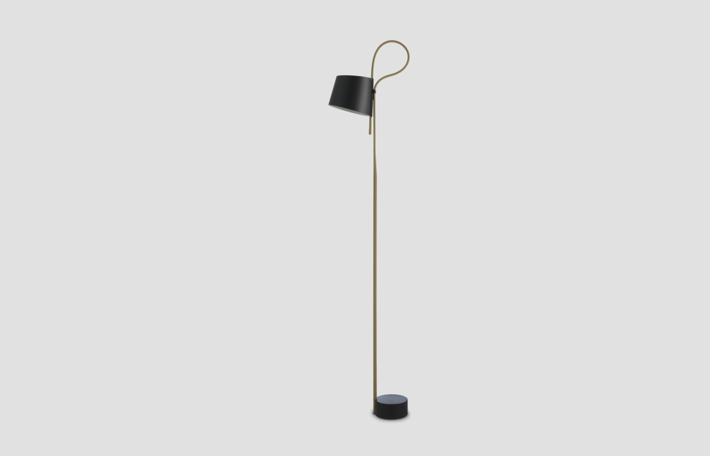 Rope trick floor lamp for Floor lamp with rope stand