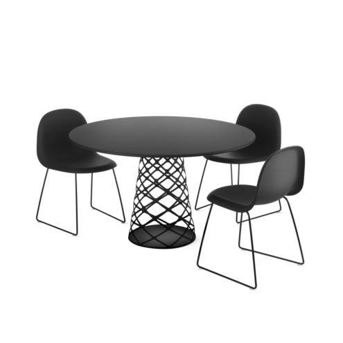 Aoyama Table with 3D Chairs