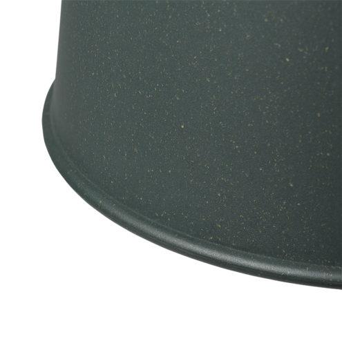 Grain Pendant Lamp Dark Green Closeup
