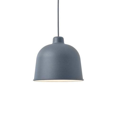 Grain Pendant Lamp Grey Blue