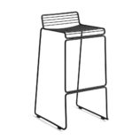 Hee Bar Stool High Black