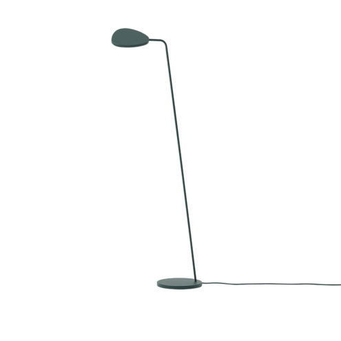 Leaf Floor Lamp Dark Green