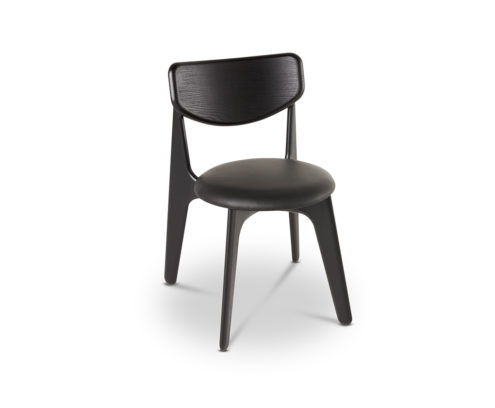 slab back dining chair