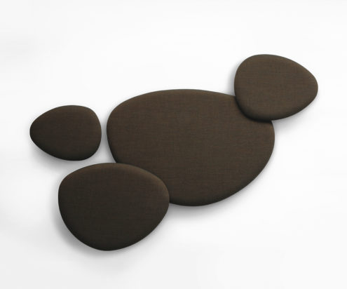 Satellite Acoustic Panels Brown