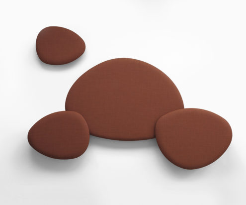 Satellite Acoustic Panels Maroon
