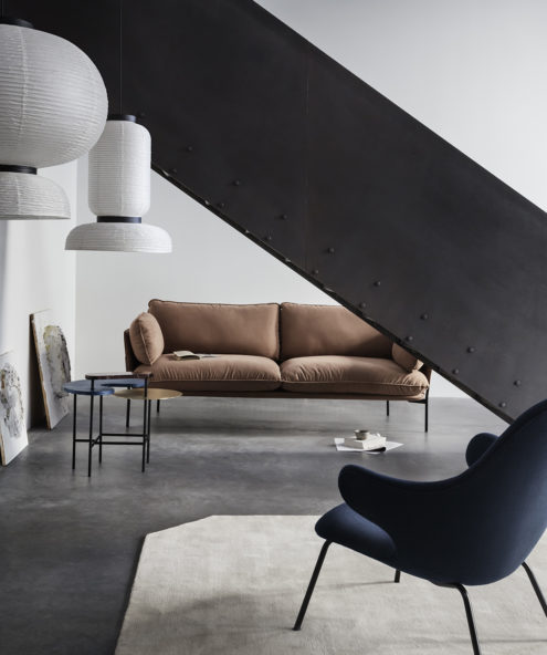 Catch Chair, Palette Table and Cloud Sofa