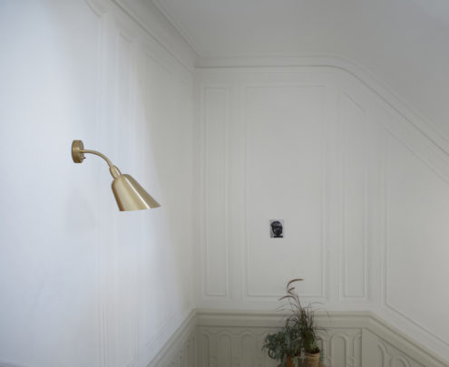 Bellevue Wall Lamp Brass