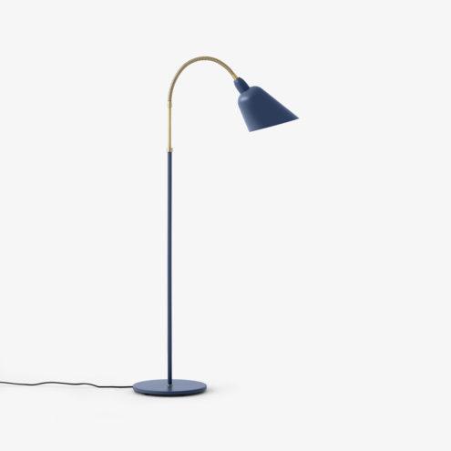 Bellevue Floor Lamp Thunder Blue