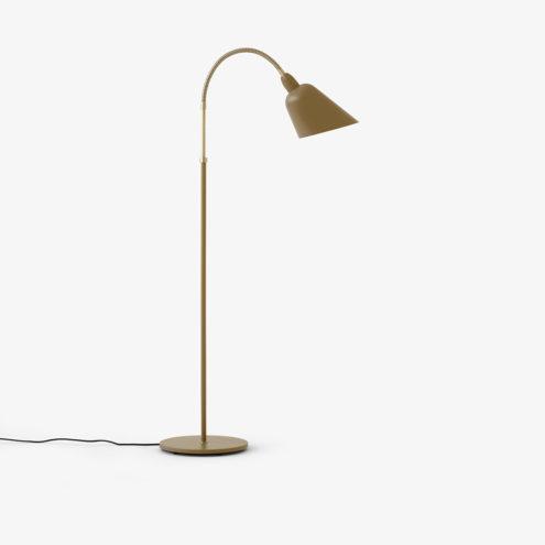 Bellevue Floor Lamp Olive Brown