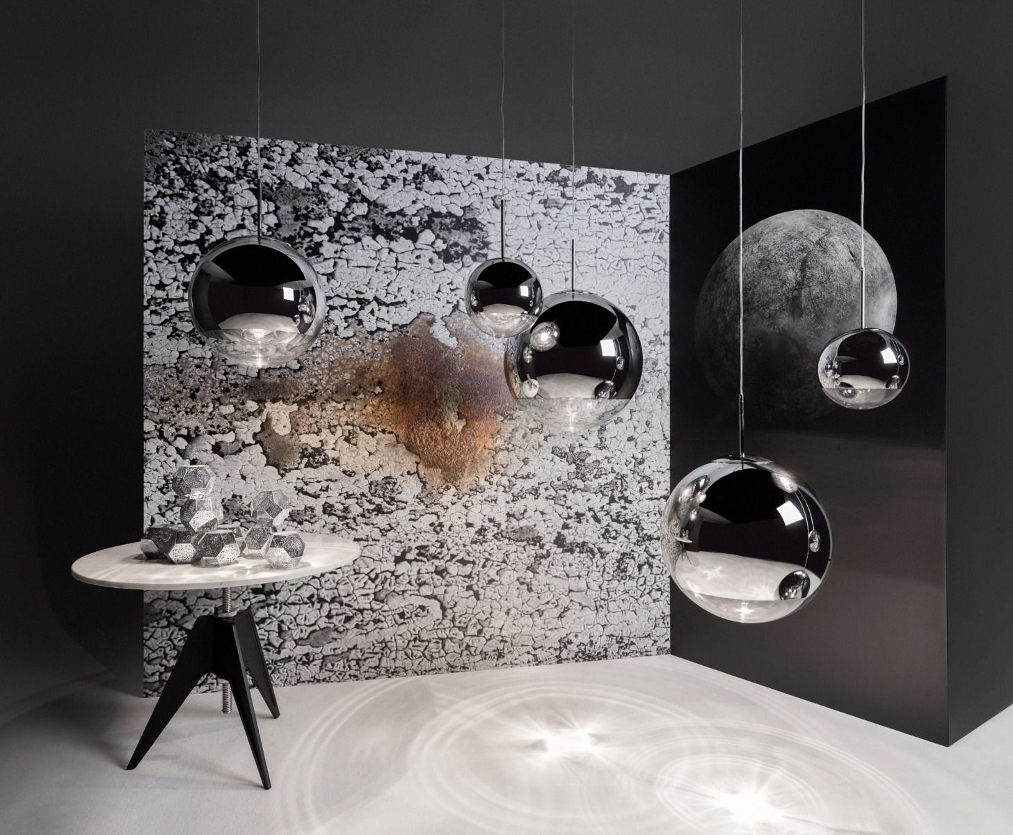 mirror ball 50cm. Black Bedroom Furniture Sets. Home Design Ideas