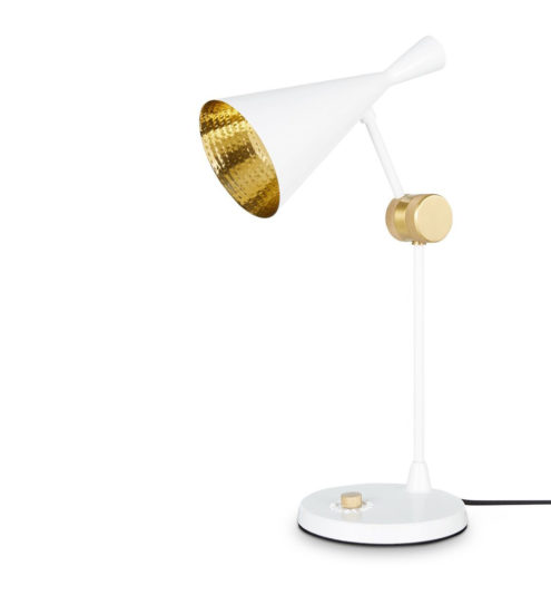 Beat Table Lamp White
