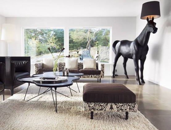 Horse lamp is a designer floor lamp by front available in sa horse floor lamp mozeypictures Gallery