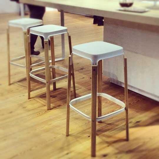 Steelwood Stool & Steelwood Stool is a designer beech wood and steel stool islam-shia.org