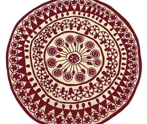 Rangoli Rugs Are Hindu Floral Designer Rugs Available In Sa