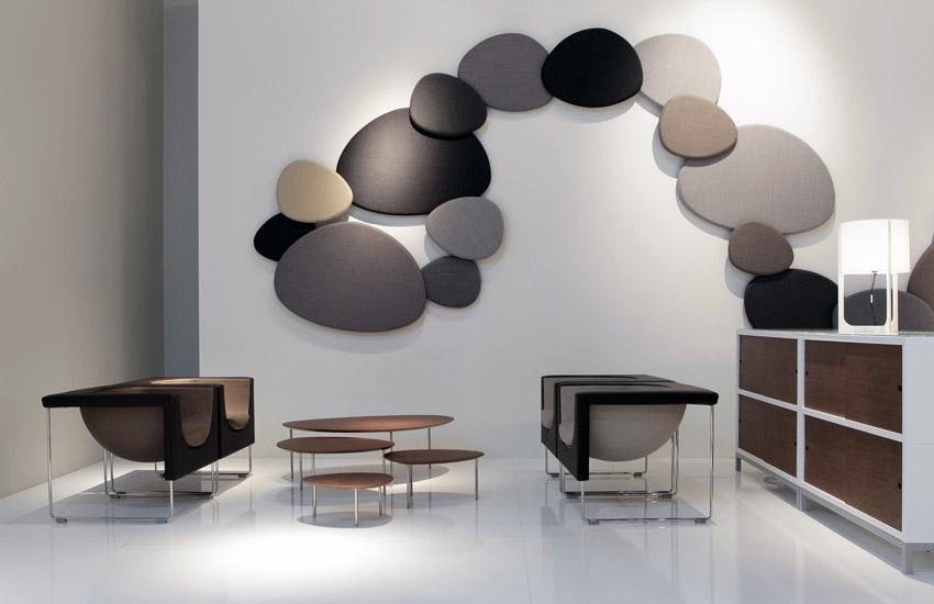Satellite Decorative Acoustic Wall Panels Designed By STUA