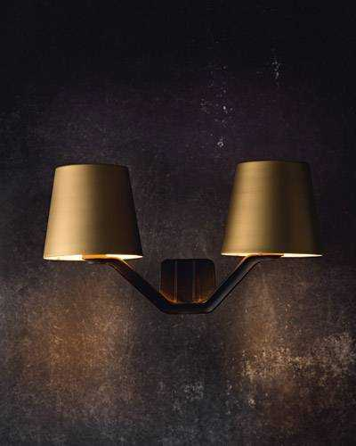 Base wall light is a designer wall light by tom dixon base wall light brushed brass mozeypictures Gallery