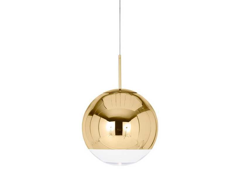 Mirror ball gold 40cm mirror ball gold pendant 40cm mozeypictures Choice Image