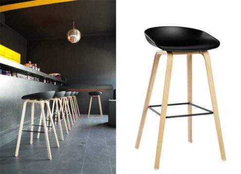 Hay about stool