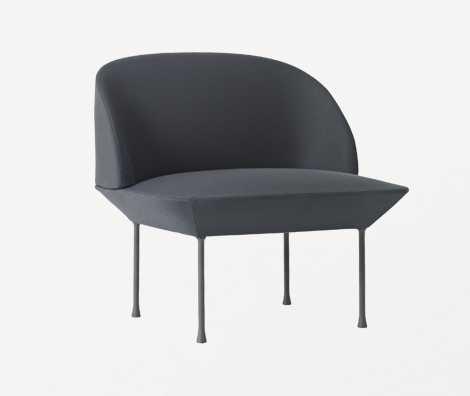 Oslo dark grey chair
