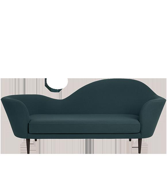 Grand piano sofa - Chaise polycarbonate transparent ...