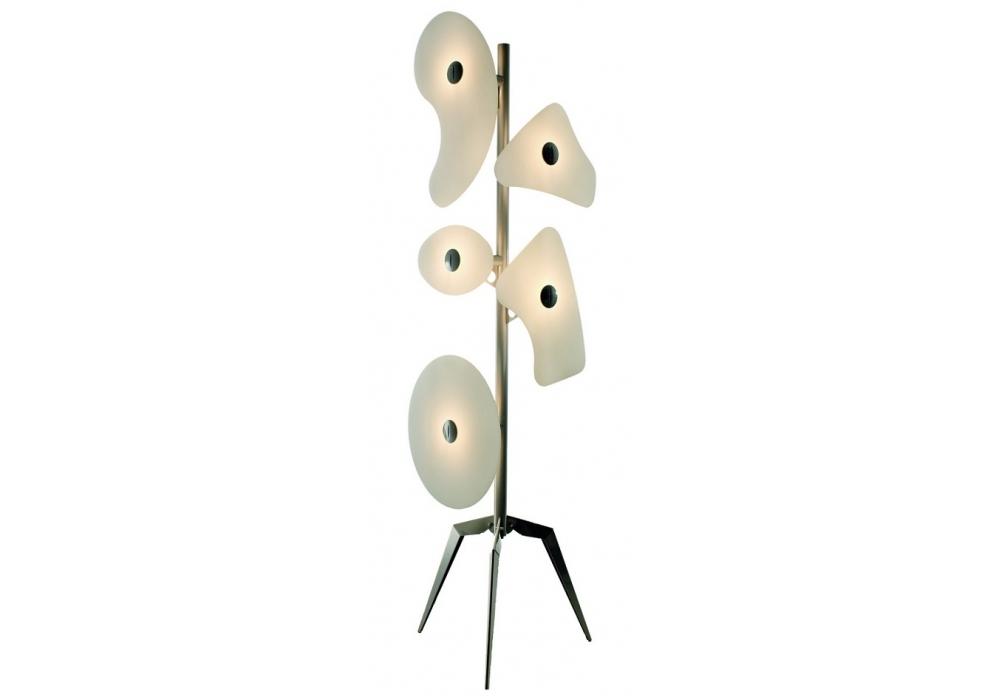 Orbital floor lamp