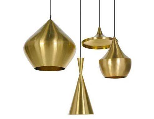 Beat Light Tall - Brass