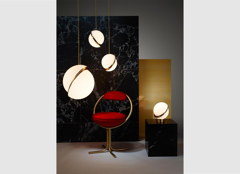 Mini Crescent Table Lamp