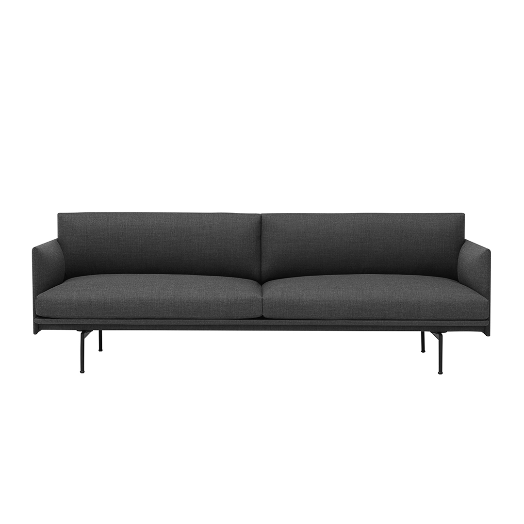 Outline 3-seater Sofa Remix 163