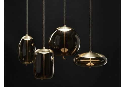 Knot Cilindro Suspension Lamp