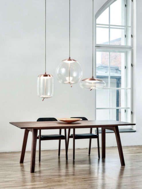 Knot Uovo Suspension Lamp