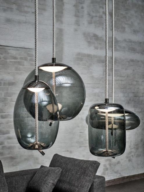 Knot Uovo Suspension Lamp