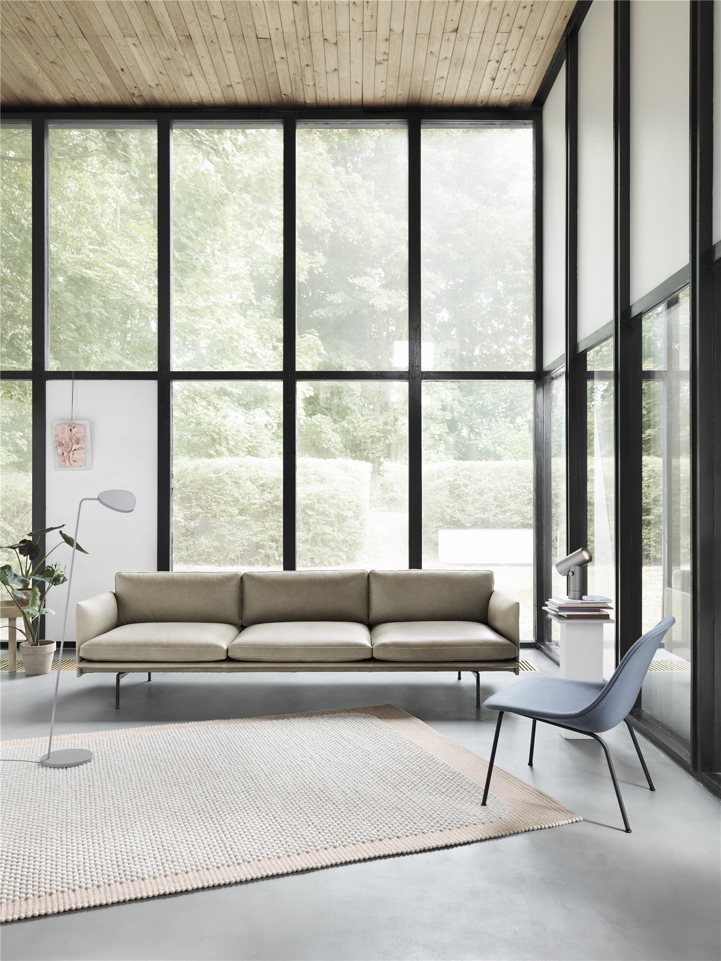 Outline Highback Sofa By Muuto