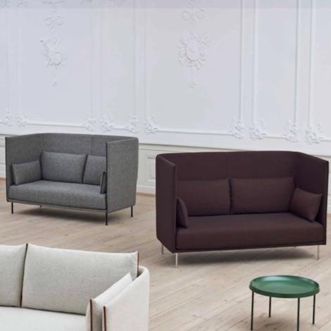 Silhouette Sofa High Backed