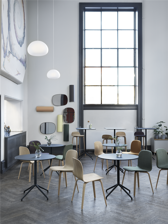 Still Caf 233 Table Round 75 By Muuto