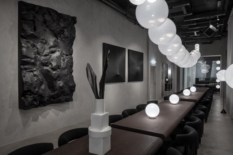 Tom Dixon's Manzoni Restaurant
