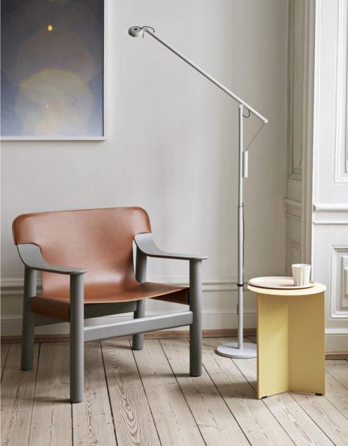 Bernard Chair Beige Grey