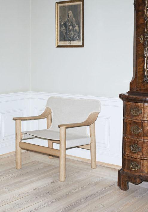 Bernard Chair in Matt Lacquered Oak