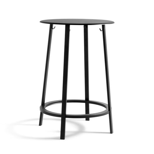 Revolver Table Black