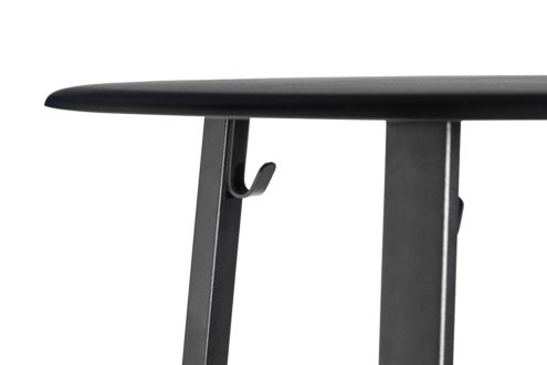 Revolver Table - Black - Detail