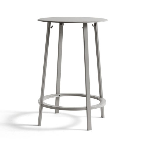 Revolver Table Sky Grey